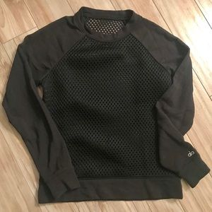 Alo Yoga mesh Sweatshirt